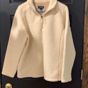 Lands' End women's Sherpa size L